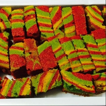 Photo of Eggless Vegan Rainbow Tea Cake by Mehak Joshi at BetterButter