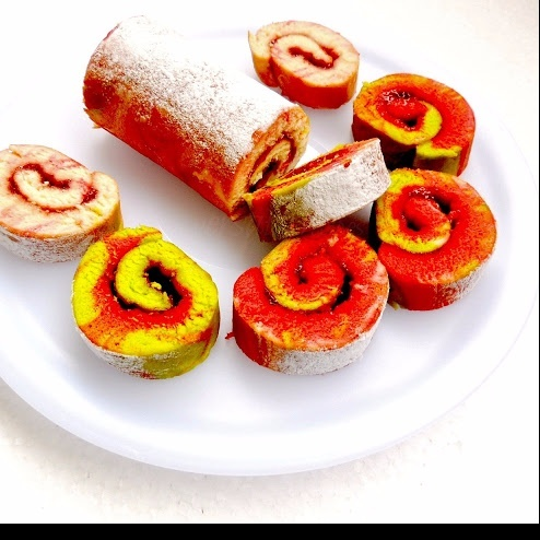 How to make Jam Swiss Roll