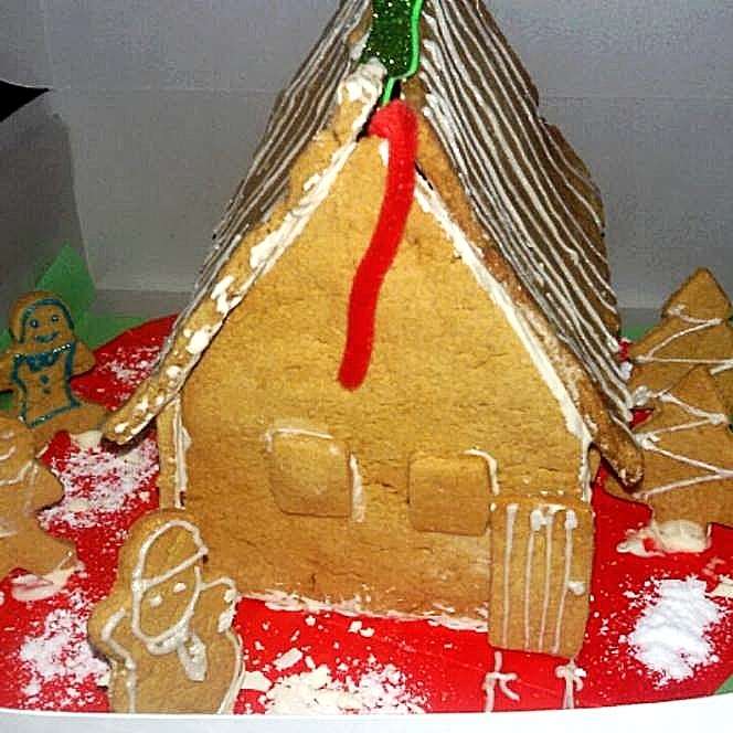 How to make Wholewheat Gingerbread House