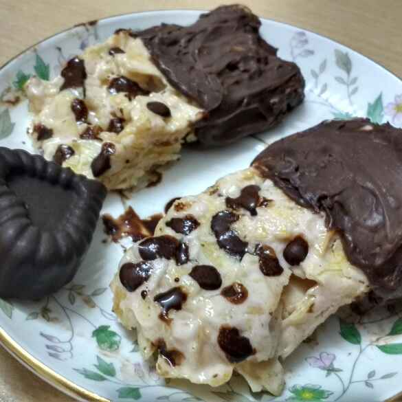Photo of Chocolate Potato Chip Marshmallow Treat by Daisy Gahle at BetterButter