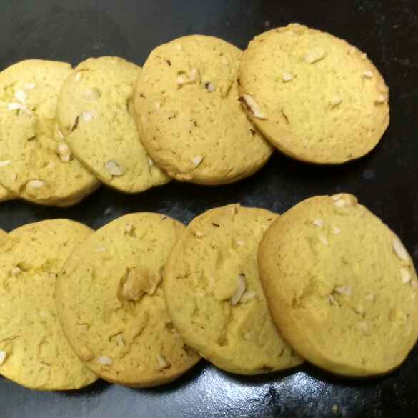 Photo of Kaju-Badam Biscuits by Daisy Gahle at BetterButter