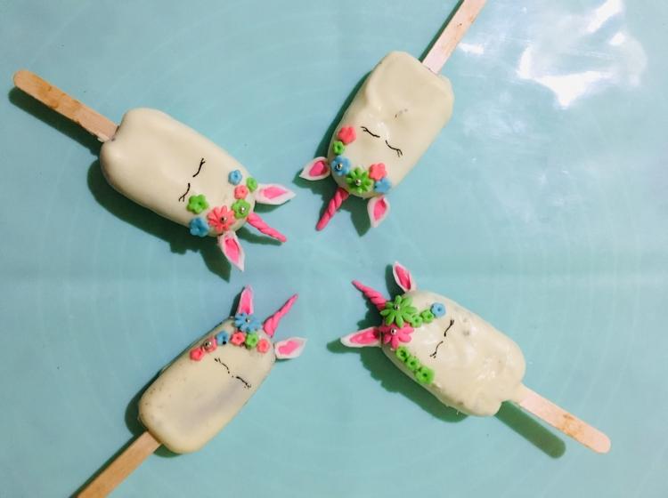 Photo of Unicorn cakesicles by Daisy Saikia at BetterButter