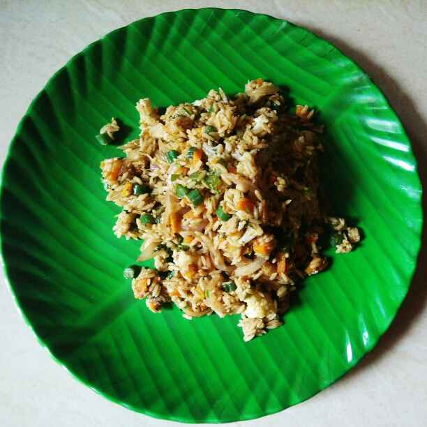 How to make Oriental Spiced Vegetable Rice