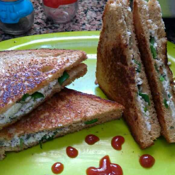 How to make Cottage Cheese Sandwich