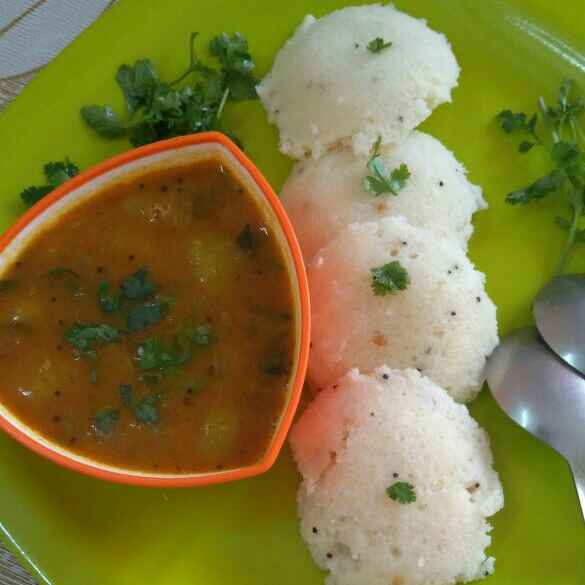 Photo of Idli-Sambhar by Darshna Jain at BetterButter