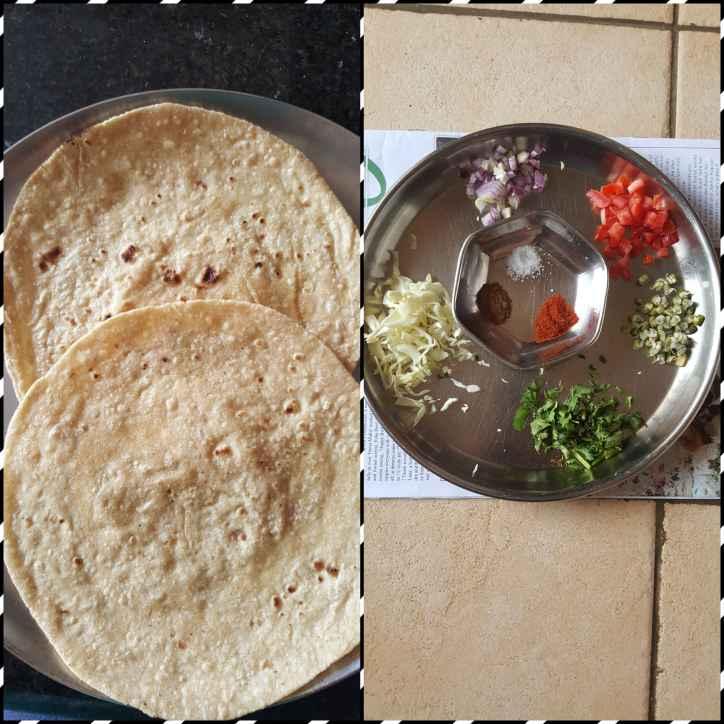 How to make Chat Masala Khakhra or Veg Masala Khakhra