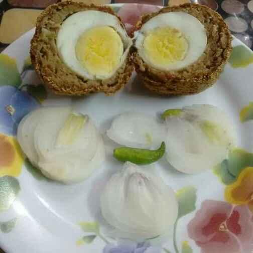 Photo of Egg Keema Crunch Dance by Debashree Bardhan at BetterButter