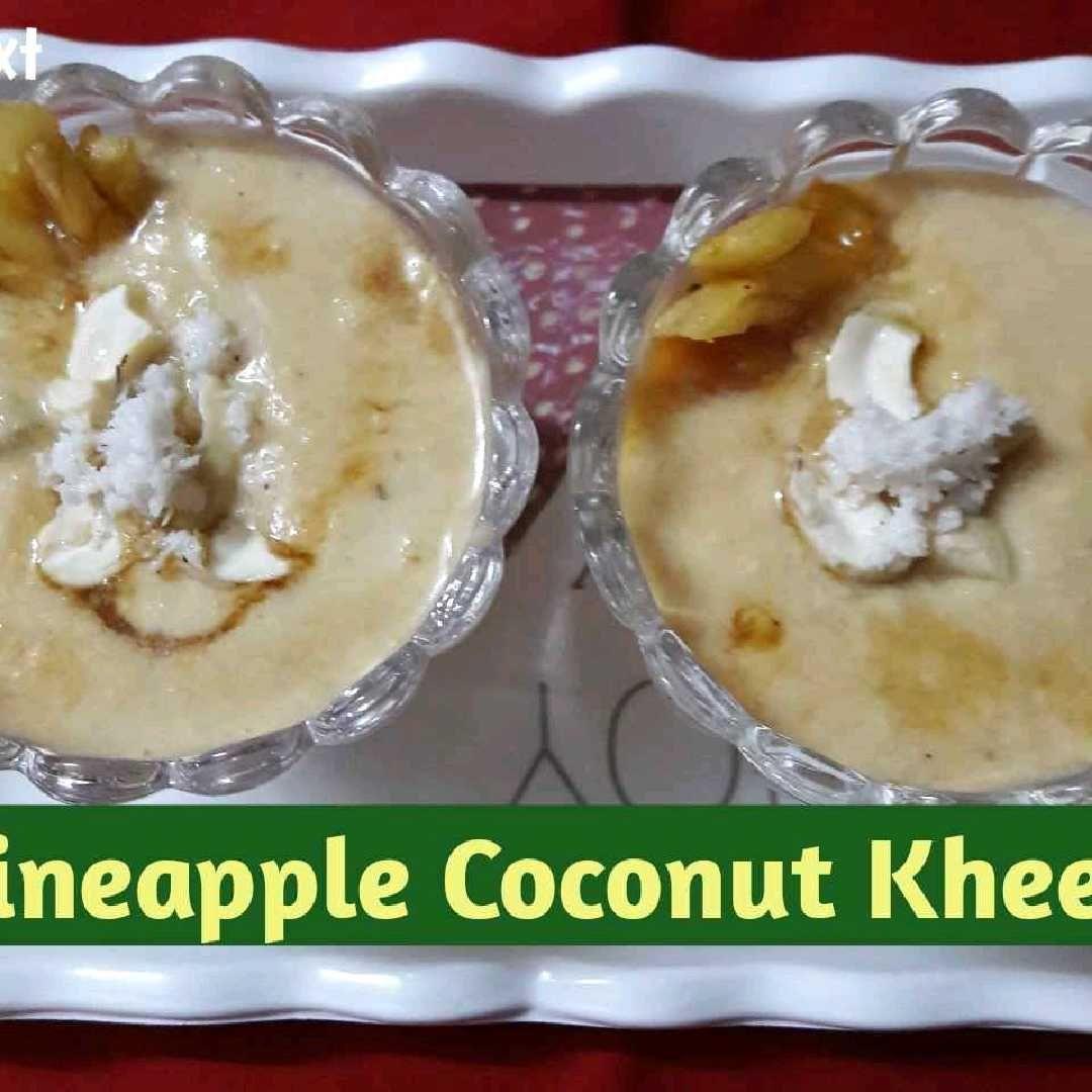 How to make Pineapple Coconut Kheer