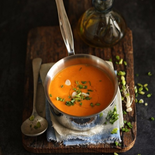 Photo of Quick Tomato Coconut Soup by Deeba Rajpal at BetterButter