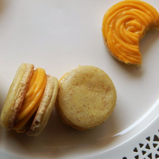 How to make Mango Macarons