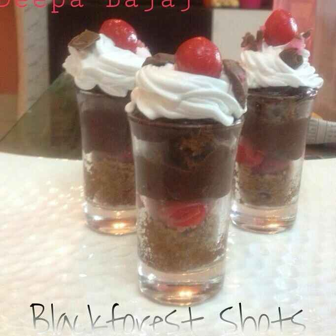 How to make Black Forest Shots