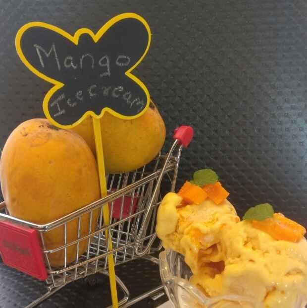 Photo of Naturals (style) Mango Icecream by Deepa Bajaj at BetterButter