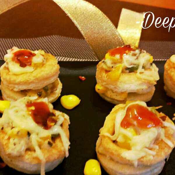 How to make Cheesy Veggie Vol-Au-Vents