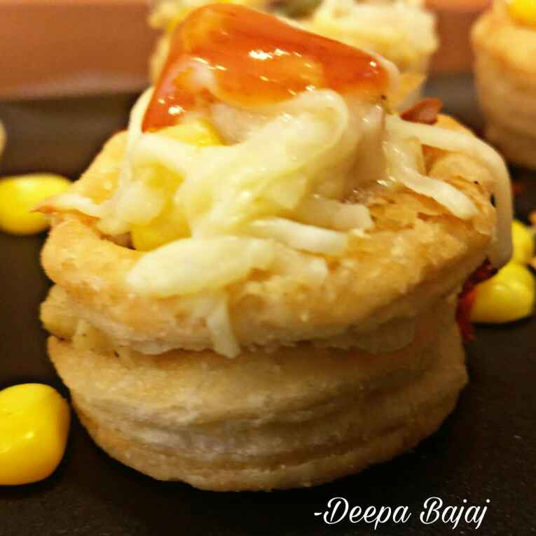 How to make Cheesy Veggie Vol-Au-Vents