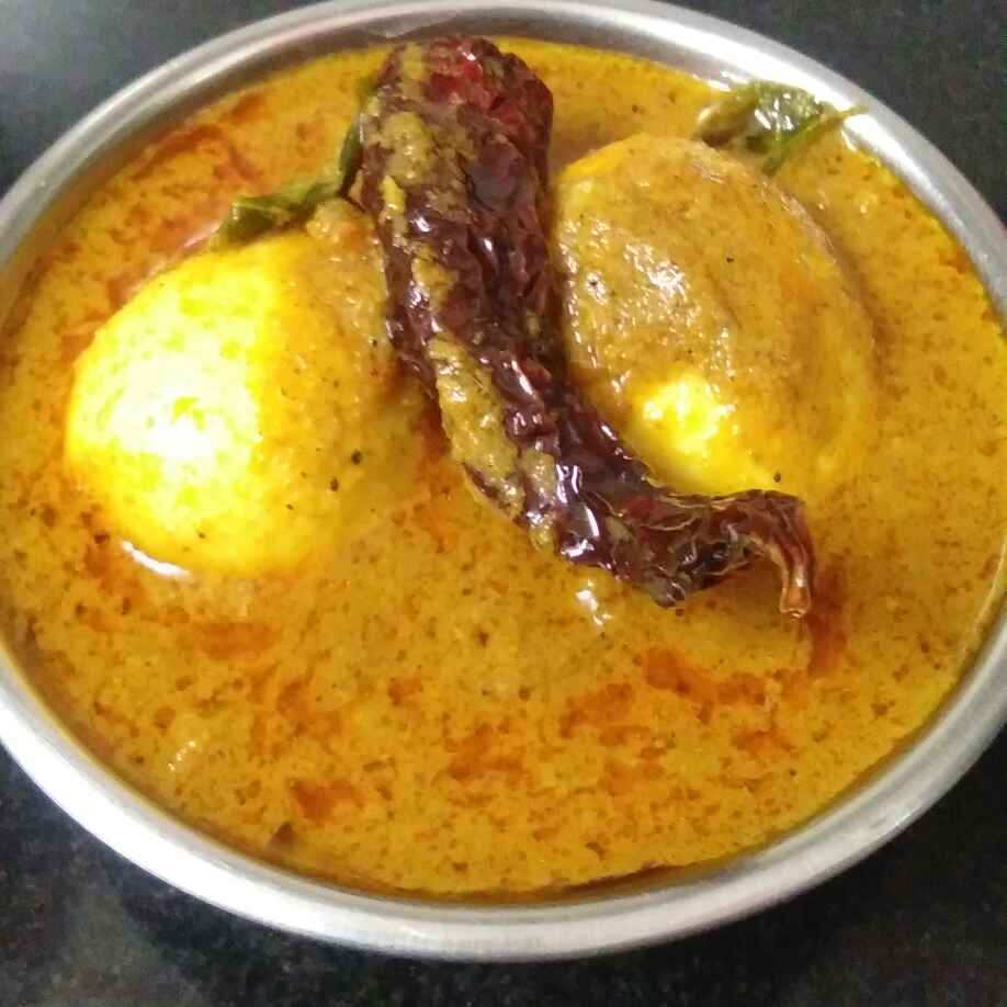 How to make केरला स्टाईल अंडा करी