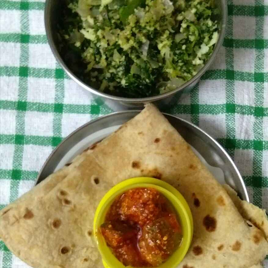 Photo of Methi bhaji by Deepa Gad at BetterButter