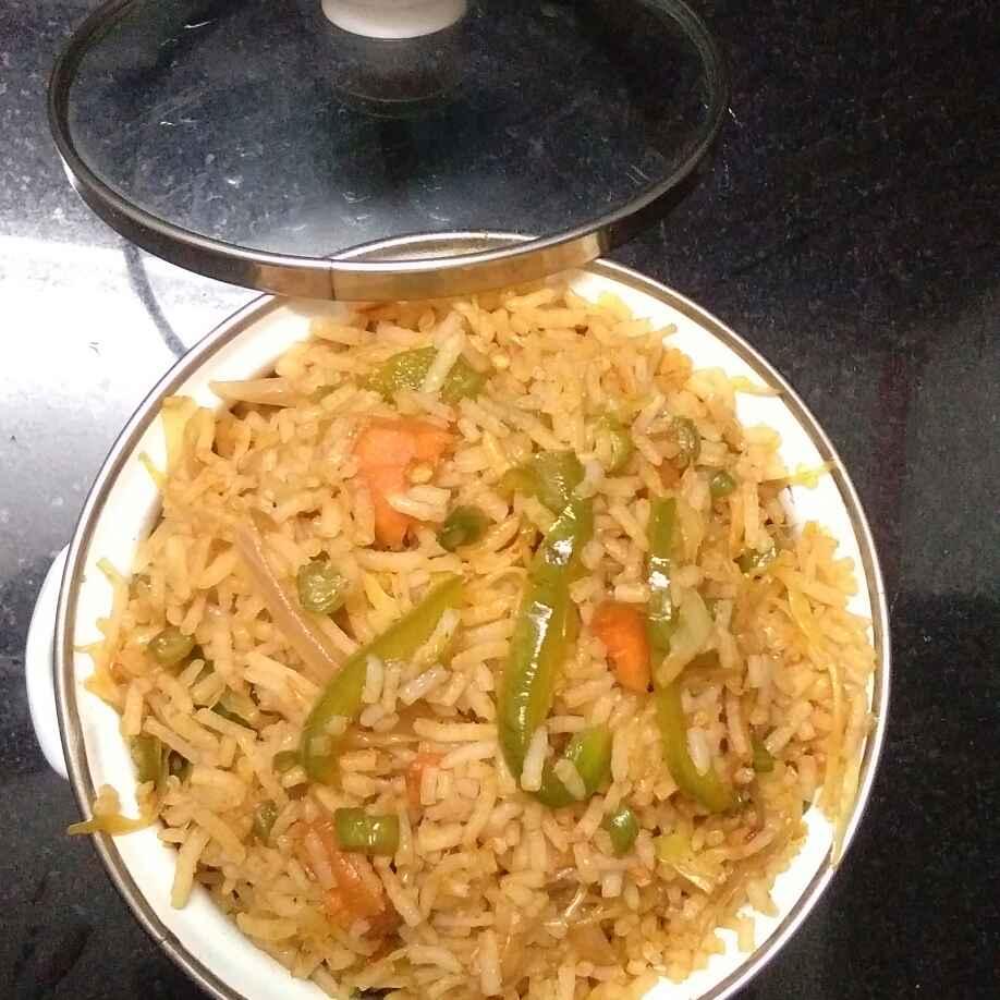 Photo of Shezwan Fried Rice by Deepa Gad at BetterButter