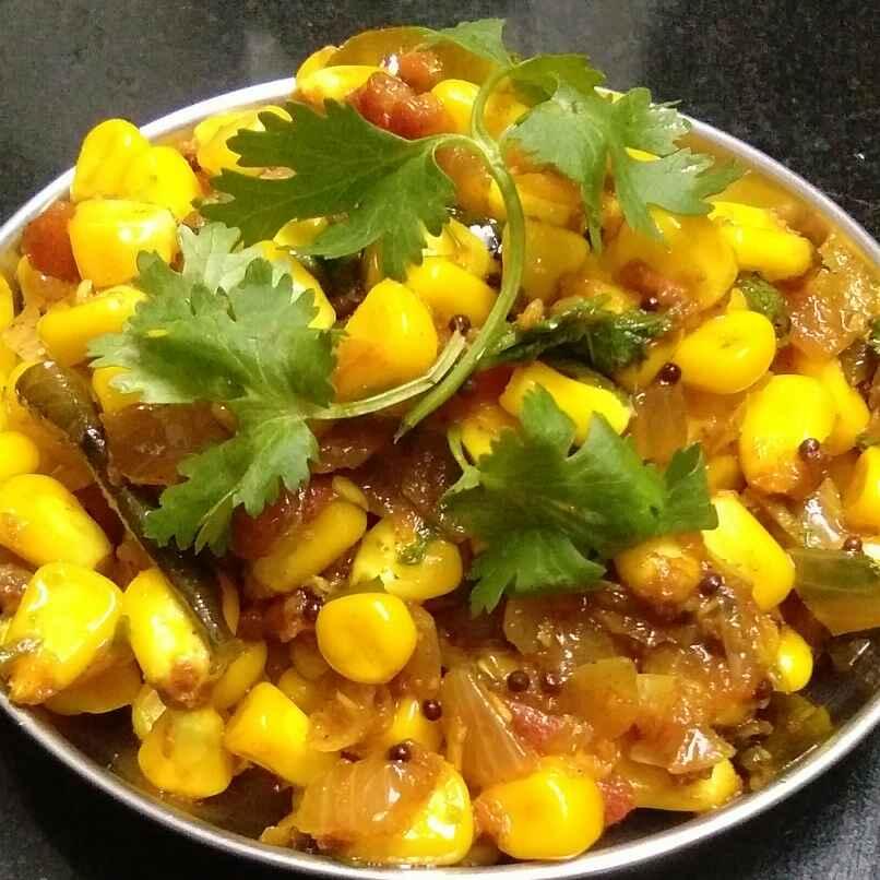 Photo of Corn Tikha Masala by Deepa Gad at BetterButter