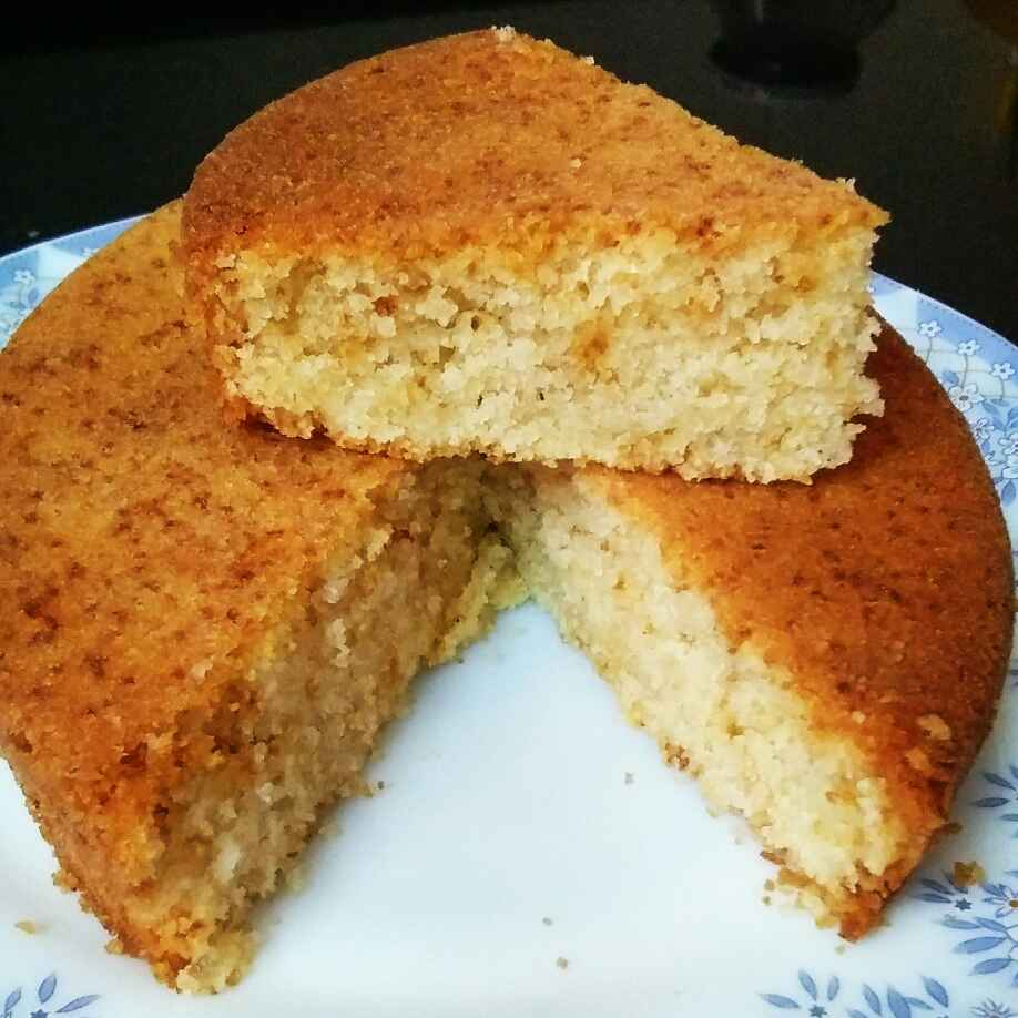 How to make Pineapple flavoured rava cake