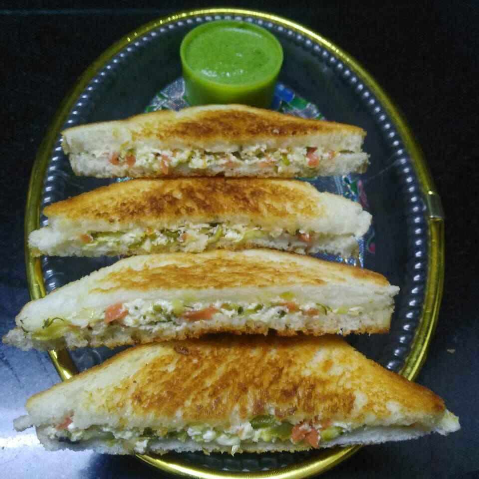 How to make दही सँडविच