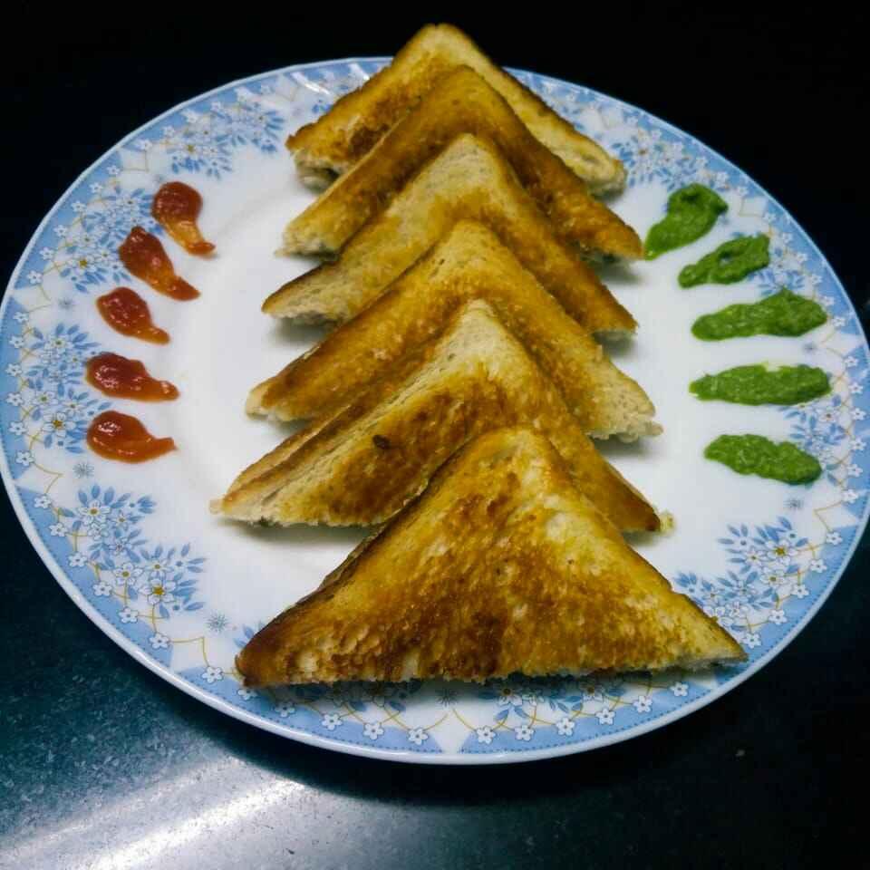 Photo of Curd Sandwich by Deepa Gad at BetterButter