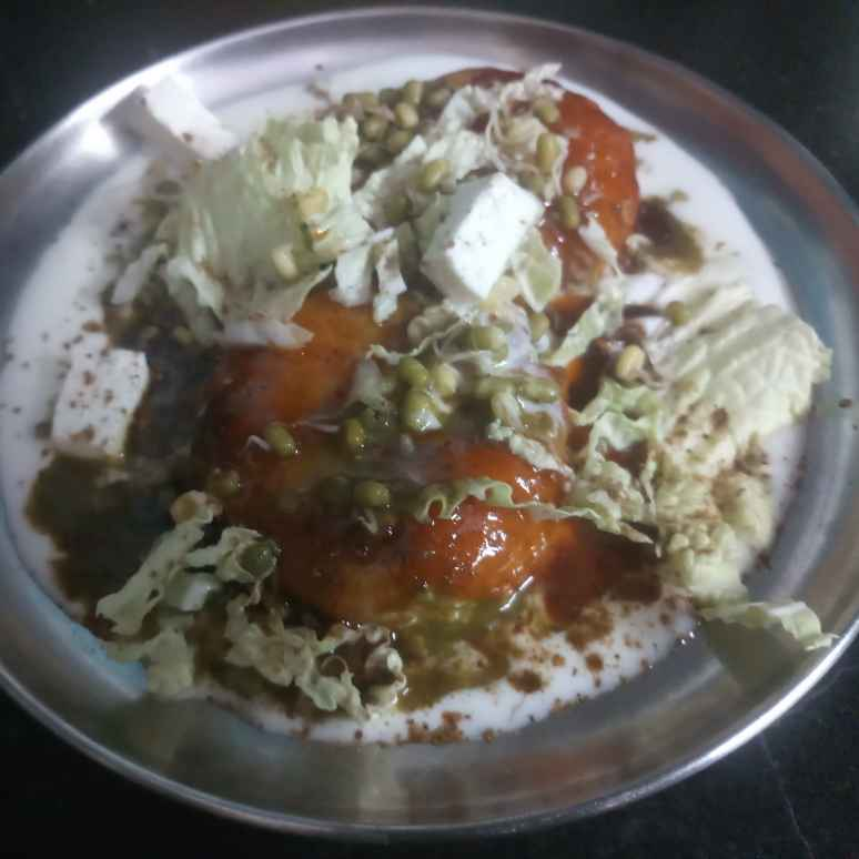 How to make Aloo tikki chat