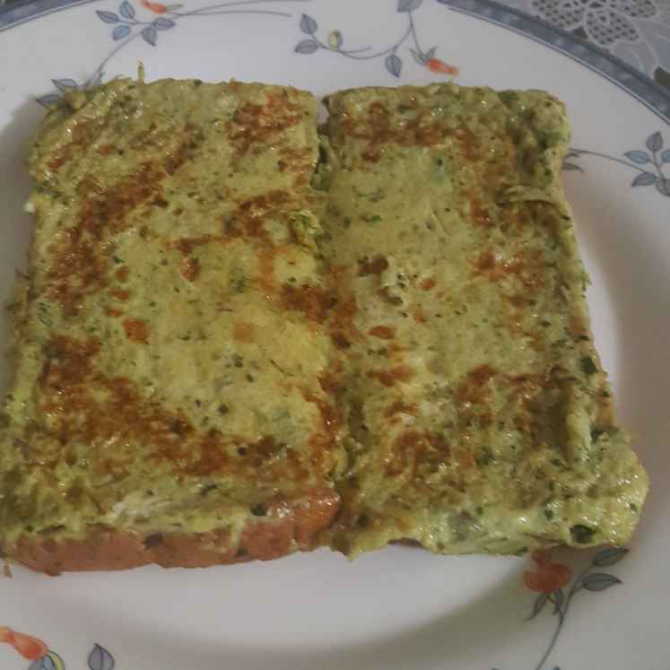 How to make Pesto parmesan french toast