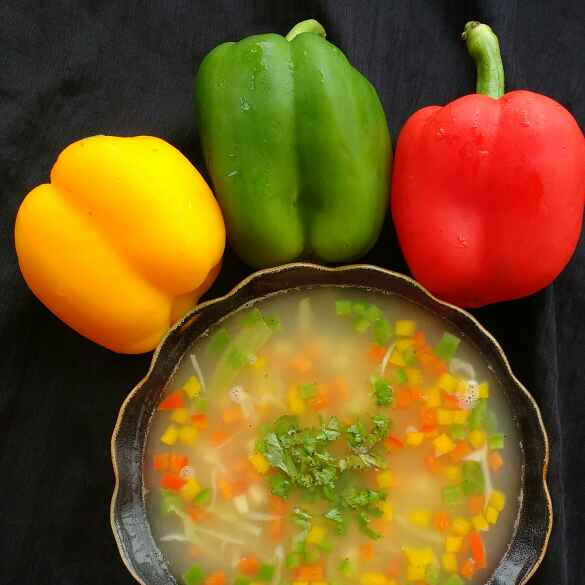 Photo of PANEER JAL (WHEY) VEGETABLE SOUP by Deepa Rupani at BetterButter