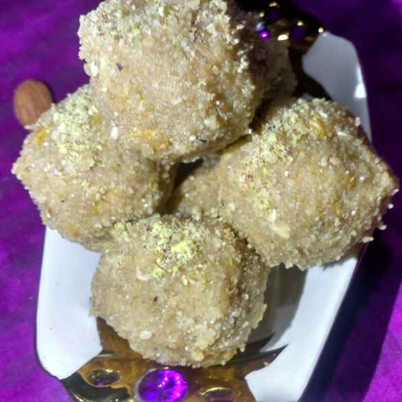 Photo of LEFTOVER BAATI LADOO by Deepa Rupani at BetterButter