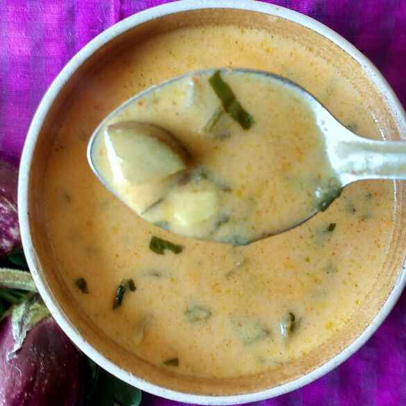 Photo of RINGAN METHI CURRY by Deepa Rupani at BetterButter