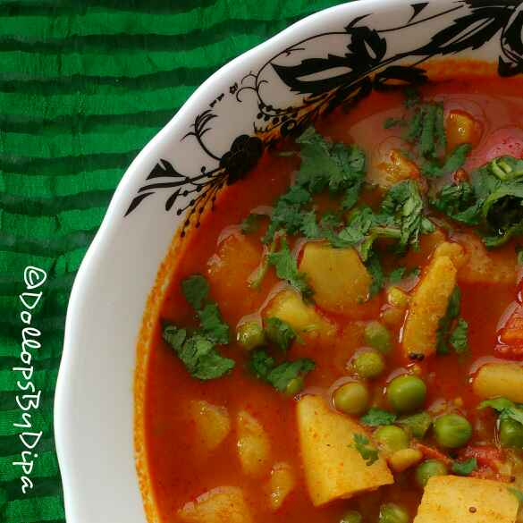 Photo of ALOO MATAR SABJI by Deepa Rupani at BetterButter