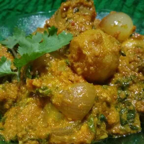 Photo of BABY POTATOES IN CURRY by Deepa Rupani at BetterButter