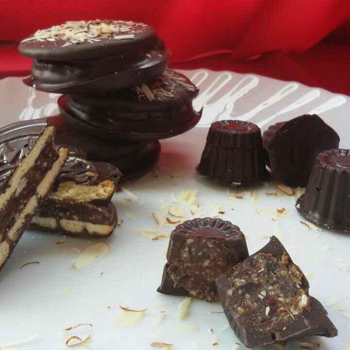 Photo of DATES ALMOND CHOCO PIE by Deepa Rupani at BetterButter