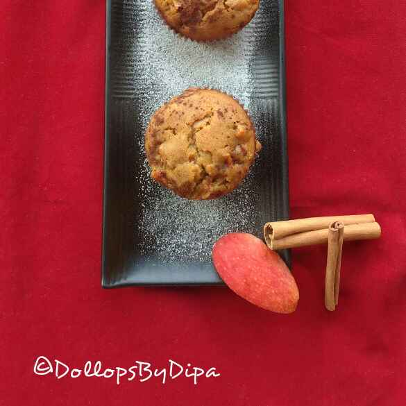 Photo of APPLE CINNAMON MUFFINS by Deepa Rupani at BetterButter