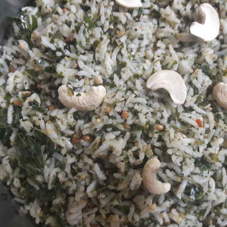 Photo of curry leaves rice by Deepa Srivatsan at BetterButter