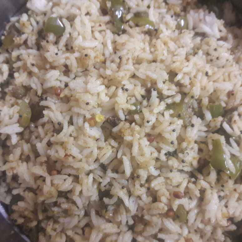 Photo of Easy capsicum rice by Deepa Srivatsan at BetterButter