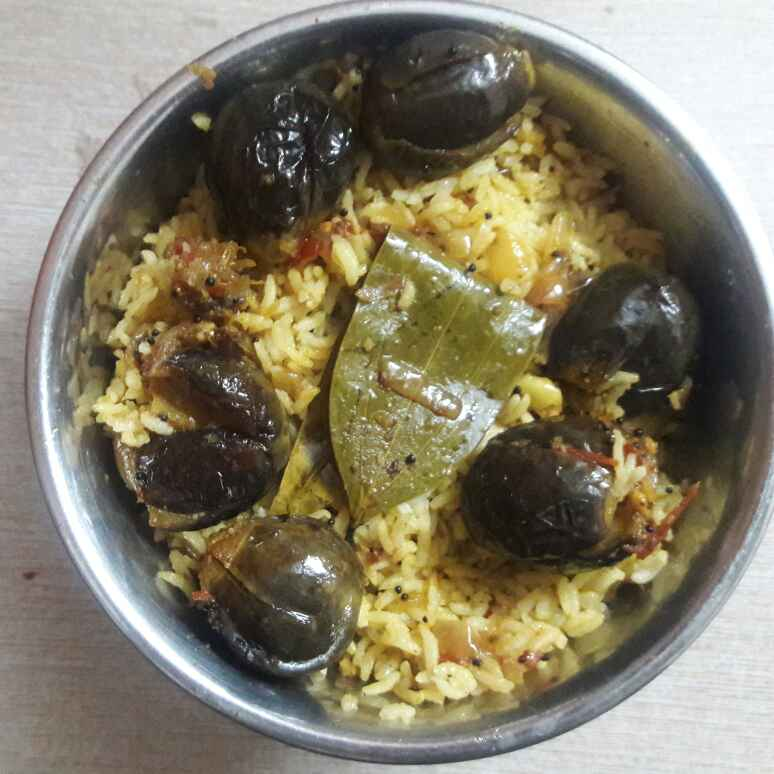 Photo of Stuffed Brinjal Rice by Deepa Srivatsan at BetterButter