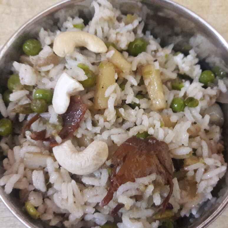 Photo of Peas potato rice by Deepa Srivatsan at BetterButter