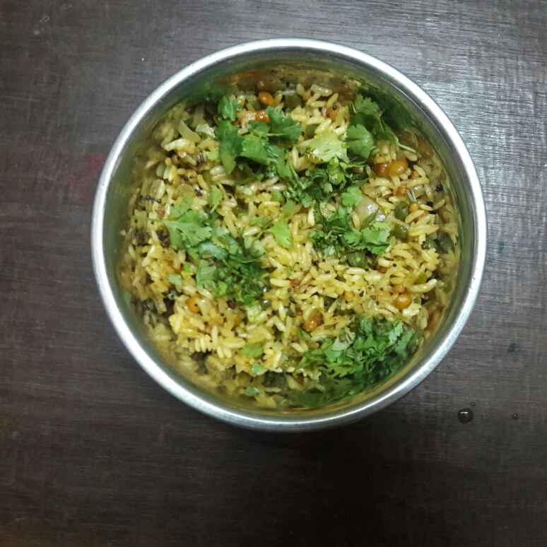 Photo of Quick pori upma by Deepa Srivatsan at BetterButter