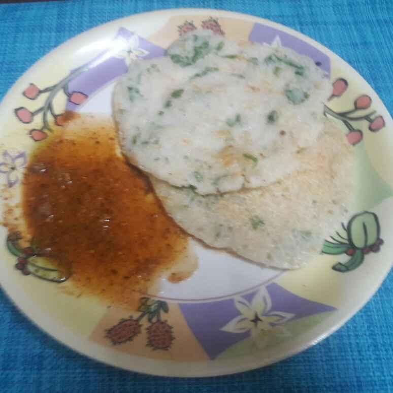 Photo of Flakes carrot uthappam by Deepa Srivatsan at BetterButter