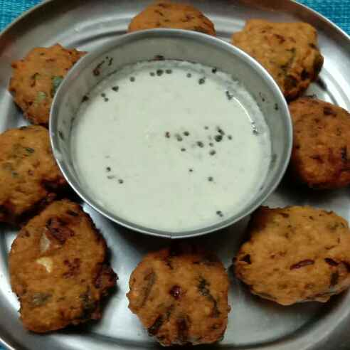 Photo of Keera vada by Deepa Srivatsan at BetterButter