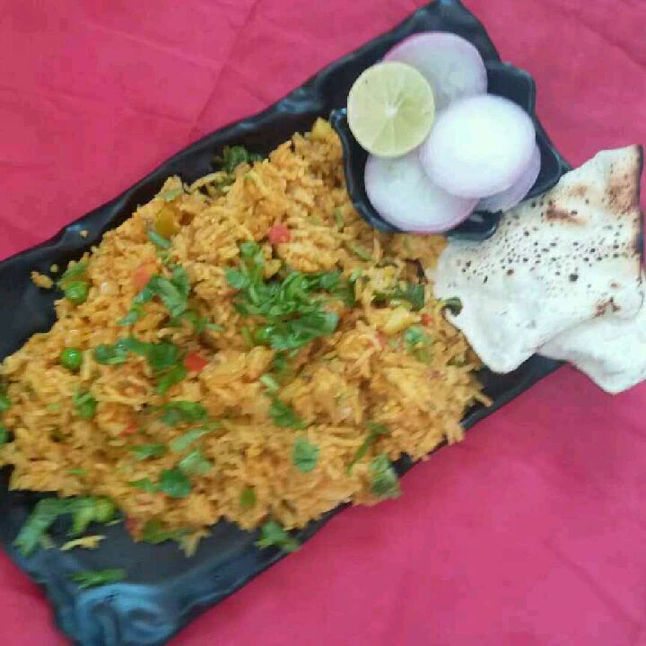 How to make Street style tawa pulao