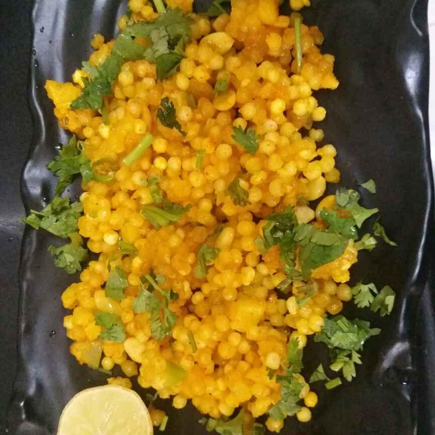 How to make Non ~fasting sabudana khichadi