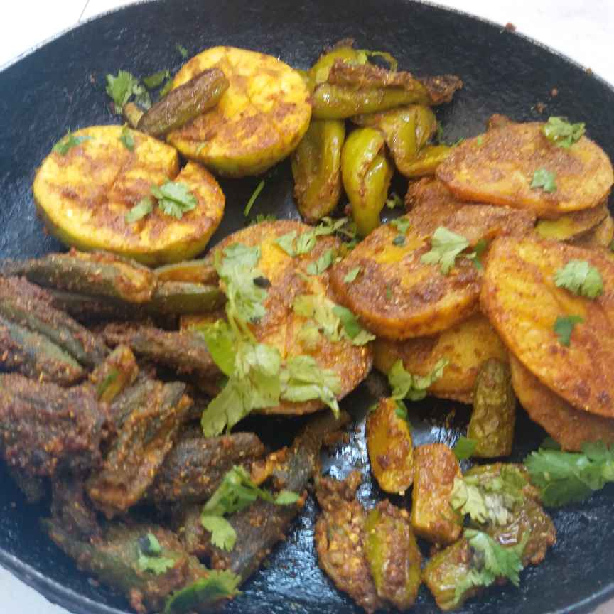 Photo of Masala Mix vegetable by Deepa Totlani at BetterButter