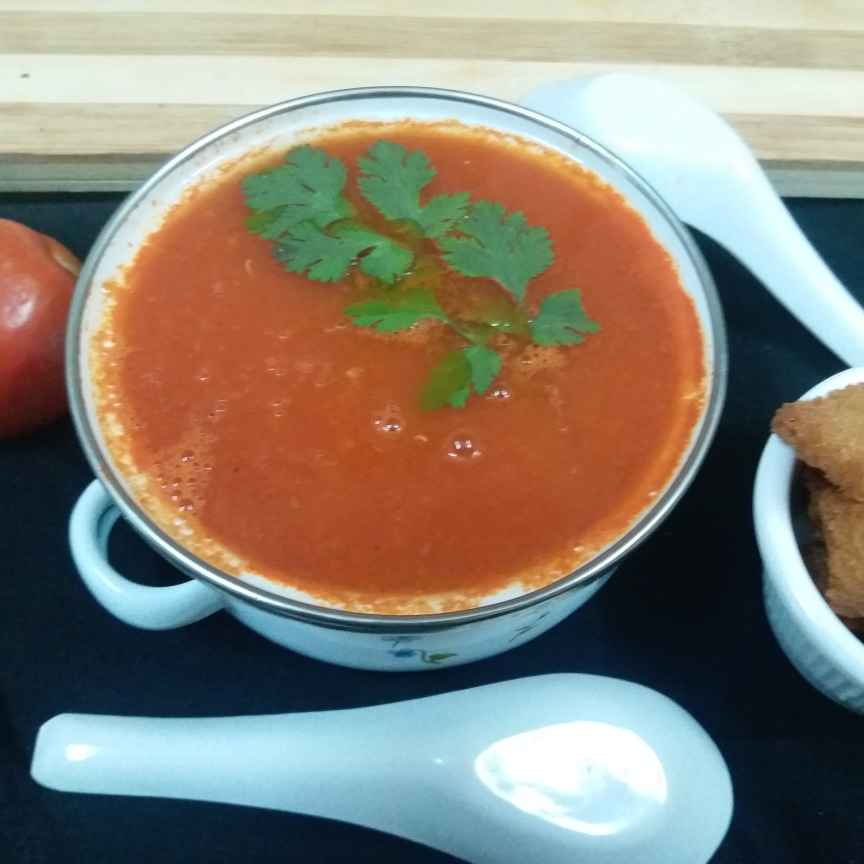 How to make No onion No garlic tomato soup