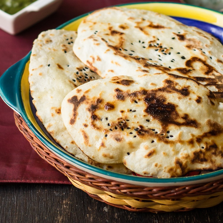 How to make बटर नान