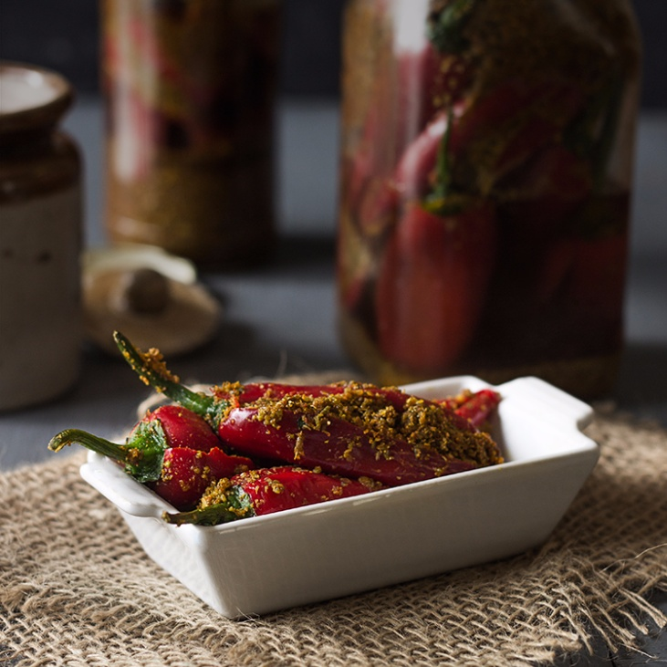 Photo of Red Chilli Pickle by Deepali Jain at BetterButter
