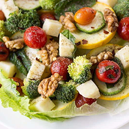 How to make Lettuce Salad with Apple Cider Vinegar