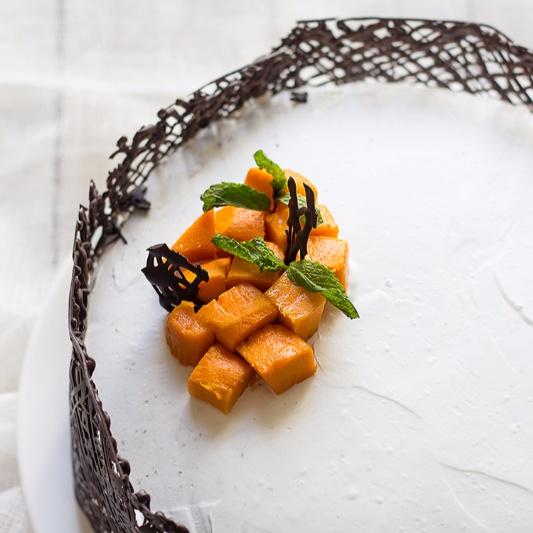Photo of Mango White Cake by Deepali Jain at BetterButter
