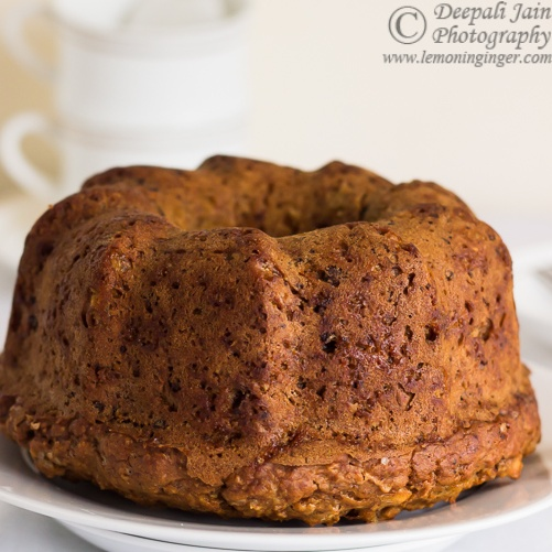 How to make Eggless Whole Wheat Carrot and Orange Zest Bundt Cake